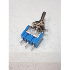 Тумблер 250V 3А (3c) ON-OFF-ON однополюсный Micro 36-4011
