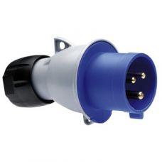 Вилка кабельная ICAT 216-P6 16A 2P+E IP44