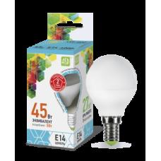LED-ШАР-standard 5Вт 230В Е14 4000К 450Лм