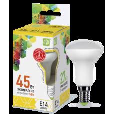 LED-R50-standard 5Вт 230В Е14 3000К 450Лм
