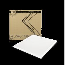Панель светодиодная LP-02-PRO 50Вт 230В 4000К 5000Лм 595х595х8мм без ЭПРА белая IP40 LLT