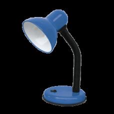 Светильник настольный под лампу СНО-02С на основании 60Вт E27 синий (мягкая упаковка) IN HOME