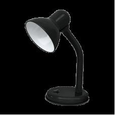 Светильник настольный под лампу СНО-02Ч на основании 60Вт E27 черный (мягкая упаковка) IN HOME
