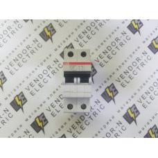 Автоматический выключатель ABB 2-полюсный SH202L C6 (автомат)