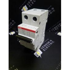 Автоматический выключатель ABB 2-полюсный SH202L C10 (автомат)