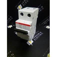 Автоматический выключатель ABB 2-полюсный SH202L C25 (автомат)