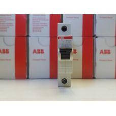 Автоматический выключатель ABB 1-полюсный SH201L C20 (автомат)