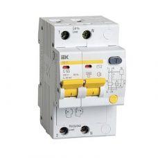 Дифференциальный автомат АД12 2Р 10А 100мА