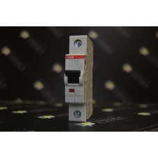 Автоматический выключатель ABB 1-полюсный S201 C6 (автомат)