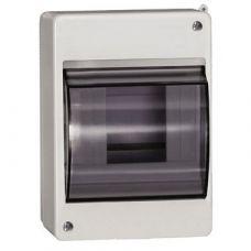 Бокс с прозрачной крышкой КМПн 2/4 для 4-х автоматических выключателей наружной установки