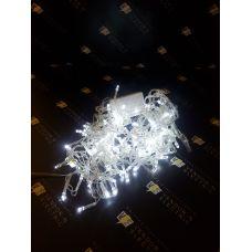 "1080430 Гирлянда ""Бахрома"" Арка, Ш:1 м, В:1 м, нить силикон, LED-126-220V, контр. 8 р. БЕЛЫЙ"