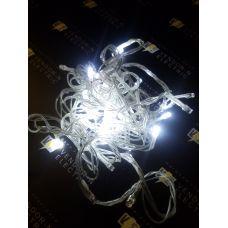 """1079980 Гирлянда """"Метраж"""" улич. Д: 5 м, нить силикон, LED-52-220V, контр. 8 р. БЕЛЫЙ"""