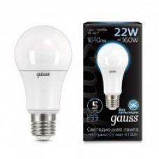 Лампа Gauss LED A70 22W E27 1640lm 4100K
