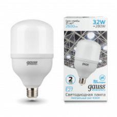 Лампа Gauss Elementary LED T100 E27 32W 2600lm 180-240V 4000K