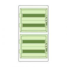 Пылевлагозащищенный корпус щита Kaedra 72 модуля