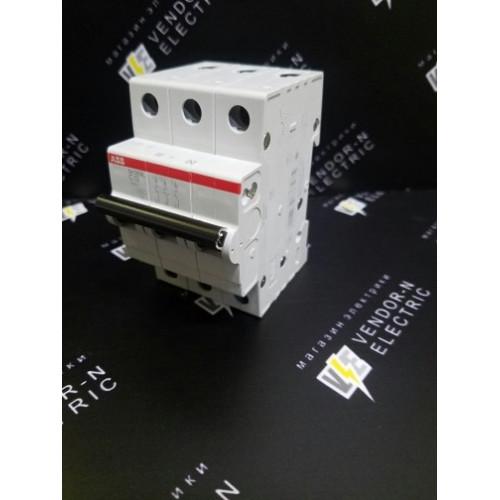 Автоматический выключатель ABB 3-полюсный SH203L C10 (автомат)
