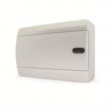 Щит навесной 4 мод. IP41, непрозрачная белая дверца UNN 40-04-2