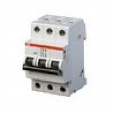 Автоматический выключатель ABB 3-полюсный S203 C6 (автомат)