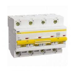 Автоматический выключатель ВА47-100 4Р 50А 10кА характеристика C