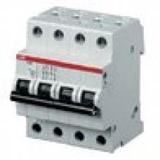 Автоматический выключатель ABB 4-полюсный SH204L C16 (автомат)