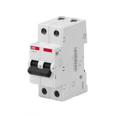 Автоматический выключатель ABB 2P, 16A, C, 4,5кА, BMS412C16