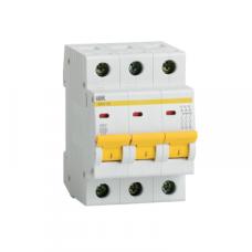 Автоматический выключатель ВА47-29 3Р 20А 4,5кА характеристика D