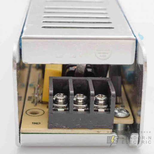 03-47 Блок питания (слим-металл) 12В, 60 Вт, IP20, 5 А, 160*40*30 мм