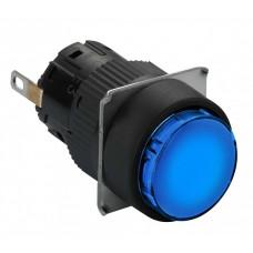 Лампа сигнальная XB2-EV166 синяя (<250V) SASS