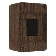 QUEL Щит навесной 2-4 мод. без дверцы, венге, УПМ, IP40