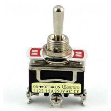 Выключатель-тумблер 1021 вкл-откл 1 группа контактов (25шт/упак) ЭНЕРГИЯ