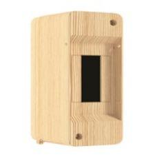 QUEL Щит навесной 1-2 мод. без дверцы, сосна, УПМ, IP40