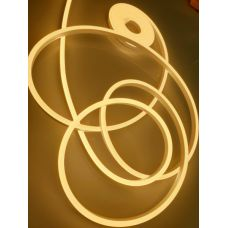 LEDS POWER Неон ПВХ СТАНДАРТ 8*16 9Вт/м 12В в блистере (5м) теплый белый