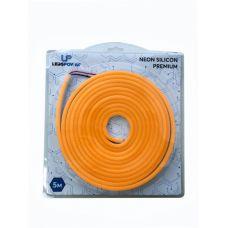 LEDS POWER Неон СИЛИКОН ПРЕМИУМ 8*16 11Вт/м 12В в блистере (5м) оранжевый