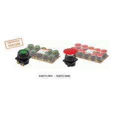 Выключатель кнопочный КЕ 011-У2 исп.3 красный 2р 10A 660B IP40 TDM