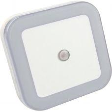 Ночник светодиодный NLE 03-SW-DS КВАДРАТ белый с датчиком освещения 230В IN HOME