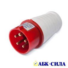 АБК-СИЛА Вилка НТ-014 16А 4 контакта 380В IP-44