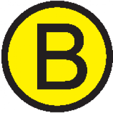 "АБК-СИЛА Символ ""B"" d=20мм"