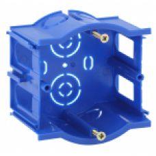 ЭРА Подрозетник промежуточный UniPost 68х45мм для твердых стен синий IP30 (160/3200)