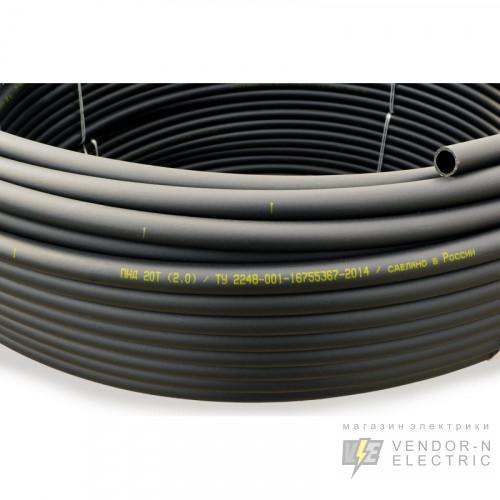 Труба жесткая гладкая ПНД 40с/2,3мм (диаметр бухты 1,70м)