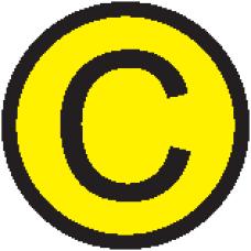 """АБК-СИЛА Символ """"C"""" d=20мм"""