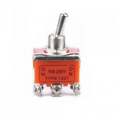 Выключатель-тумблер 1321 вкл-вкл 2 группы контактов (20шт/упак) ЭНЕРГИЯ