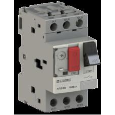 Автоматический выключатель защиты двигателя АПД-03 In=1,6 A Ir=1-1,6 A