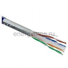 01-0147 Кабель витая пара F/UTP, кат.6,4*2*0,57 мм PVC, внутрений синий REXANT ( 305 м)
