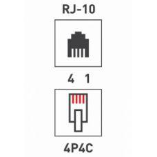 Джек телефонный 4P4C PROCONNECT