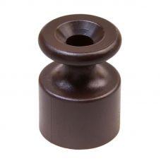 BIRONI изолятор пластик коричневый (100шт)