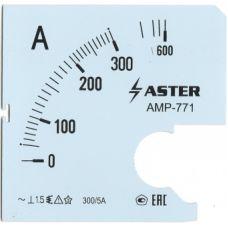 Шкала к амперметру AMP-771 400/5 А