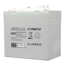 Аккумулятор АКБ 12-55 Энергия