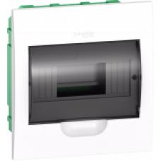 Schneider electric бокс 8 мод. встраиваемый,прозрачная дверь IP40 63А