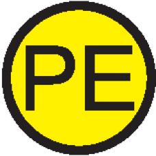 """АБК-СИЛА Символ """"PE"""" d=20мм"""