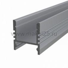 Профиль накладной алюминиевый 1617-S-2 REXANT, 2м